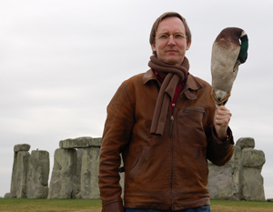 Stonehenge, with the duck
